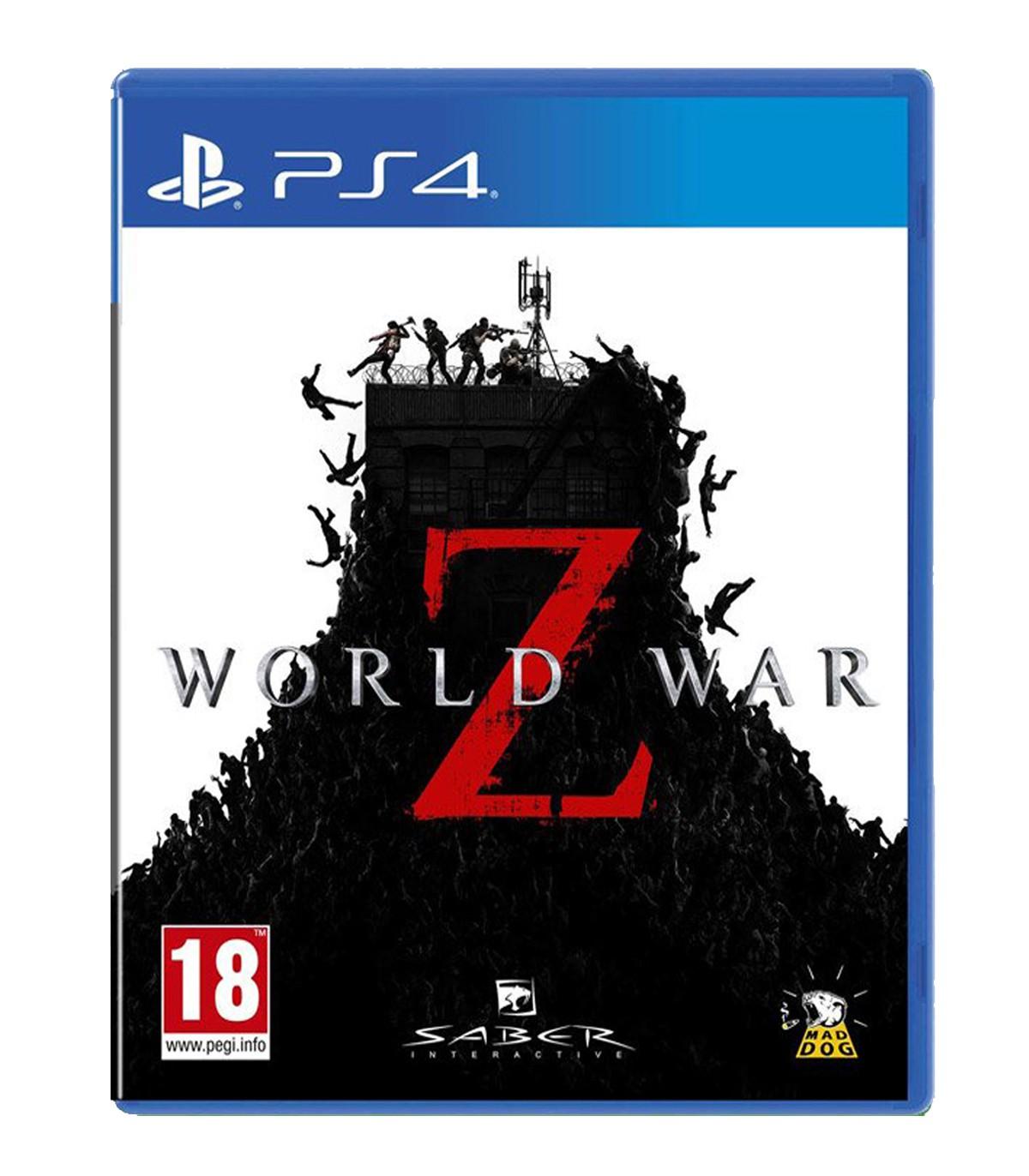 بازی World War Z کارکرده - پلی استیشن 4
