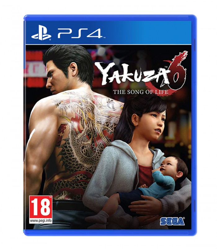 بازی Yakuza 6 The Song of Life کارکرده - پلی استیشن 4