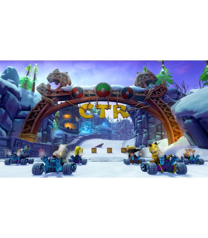 بازی Crash Team Racing Nitro-Fueled - پلی استیشن 4