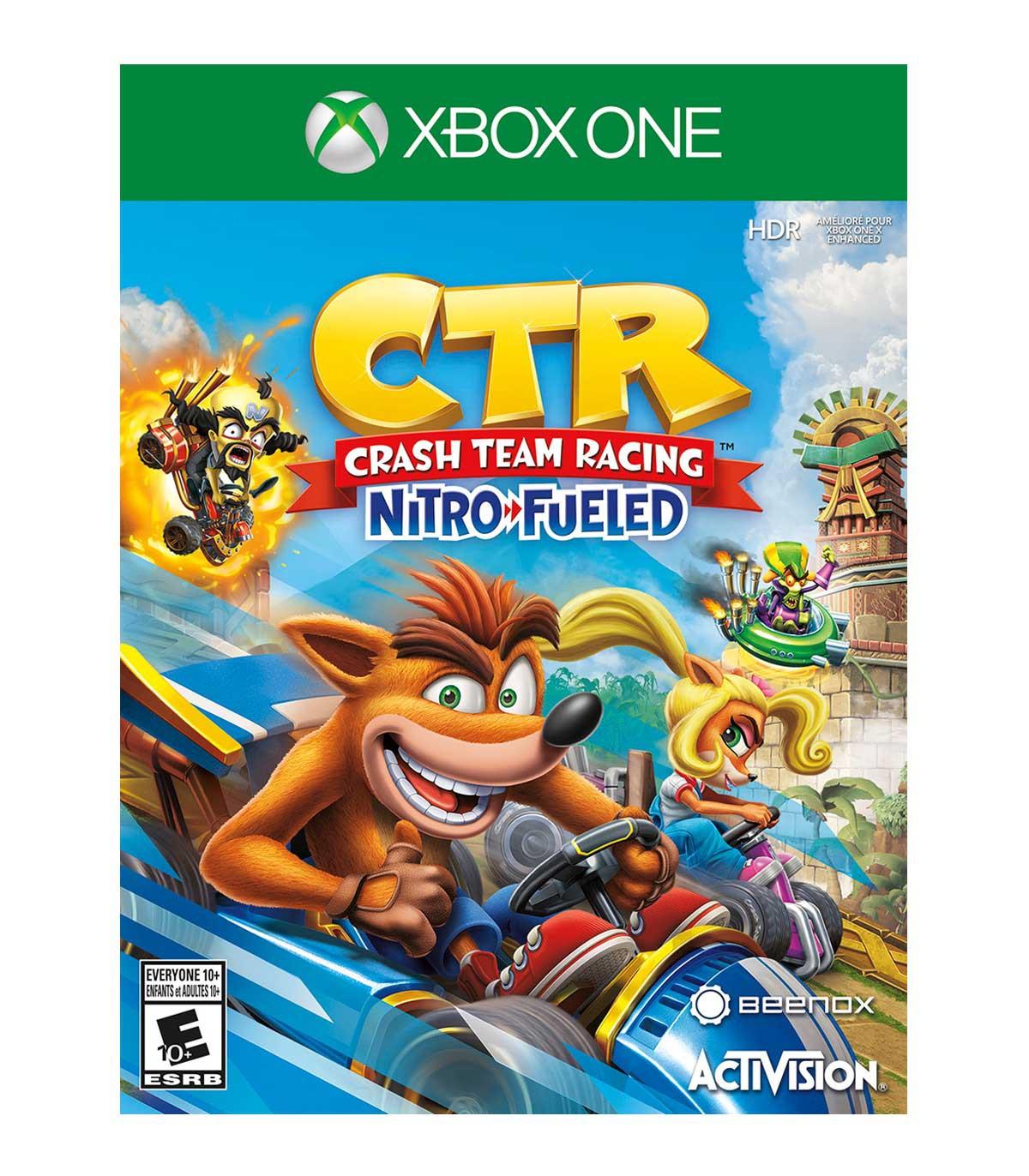 بازی Crash Team Racing Nitro-Fueled - ایکس باکس وان