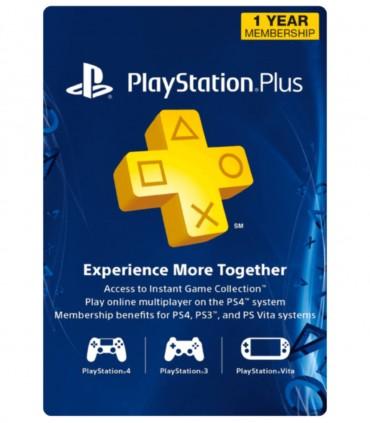 پلی استیشن پلاس یک ساله آمریکا Sony PlayStation Plus 1 Year