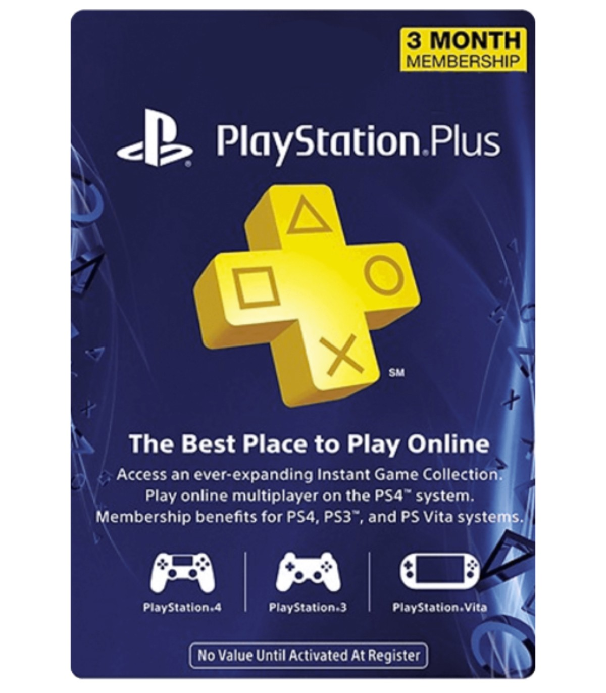 پلی استیشن پلاس سه ماهه آمریکا  Sony PlayStation Plus 3 months