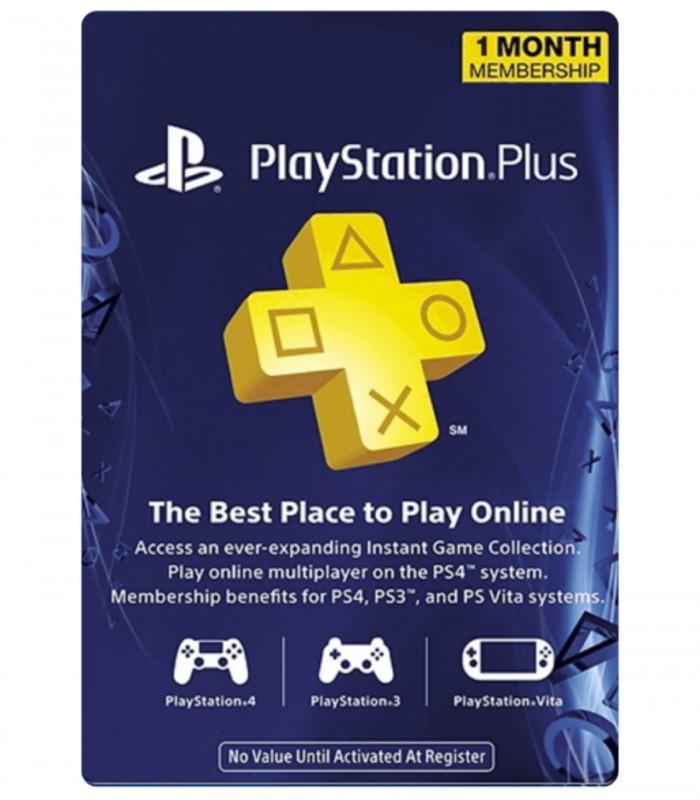 پلی استیشن پلاس یک ماهه آمریکا Sony PlayStation Plus 1 Months