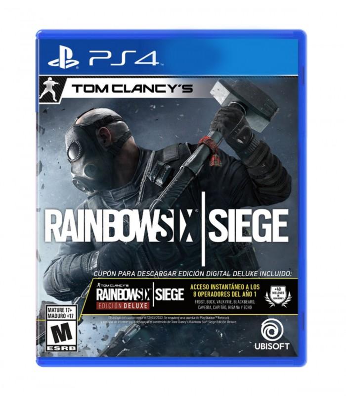 بازی Rainbow Six Siege Deluxe Edition - پلی استیشن 4