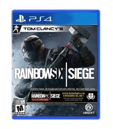 بازی Rainbow Six Siege Deluxe Edition - پلی استیشن 4