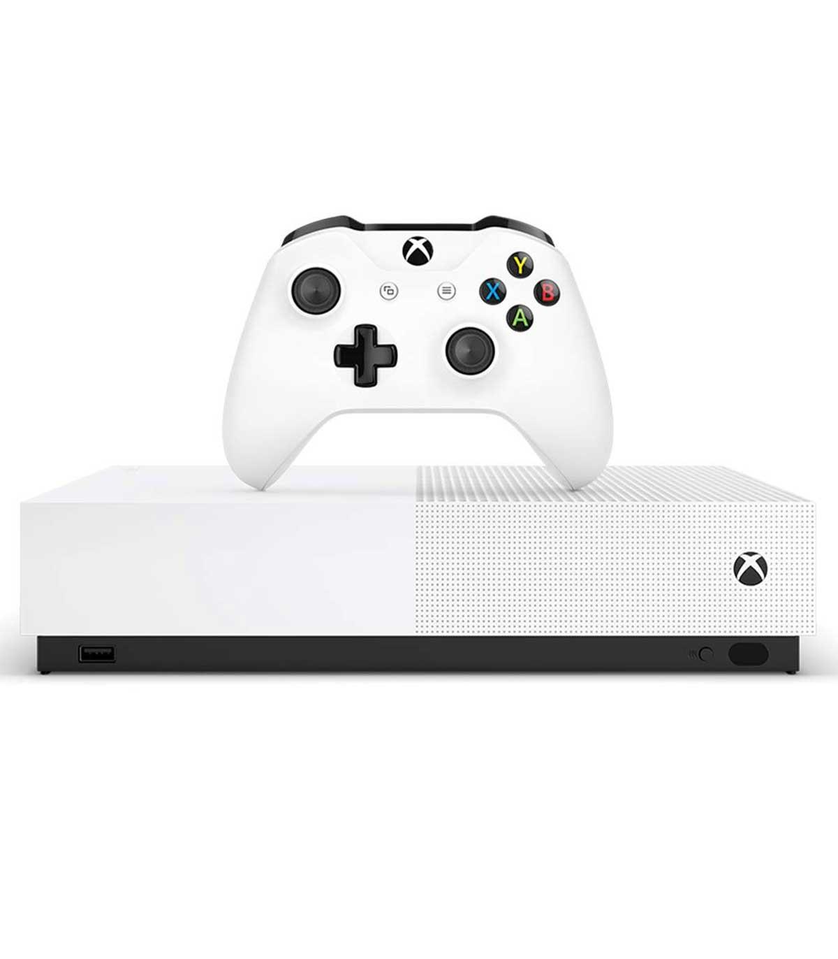کنسول بازی Xbox One S نسخه آل-دیجیتال