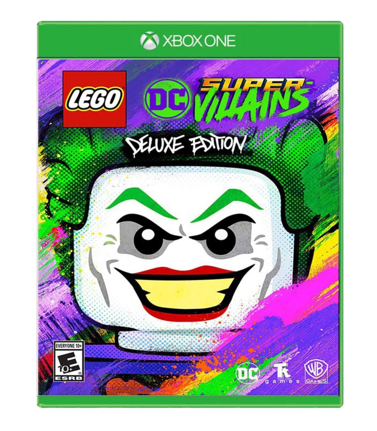 بازی LEGO DC Super-Villains Deluxe Edition کارکرده - ایکس باکس وان
