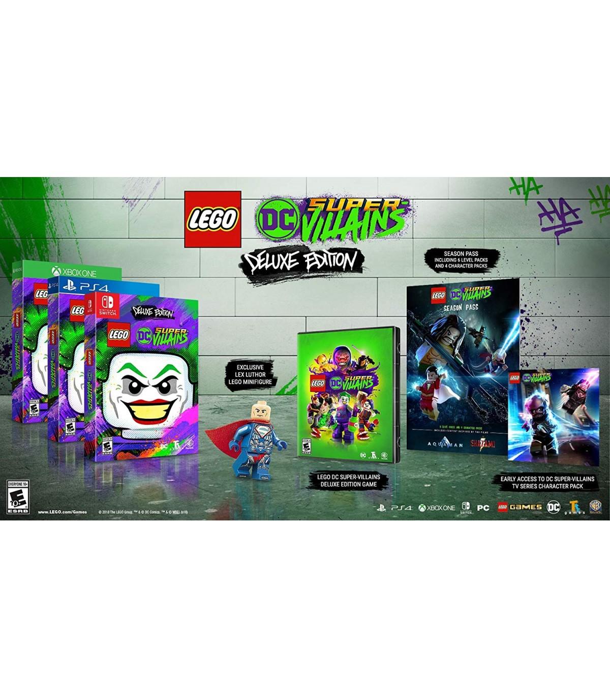بازی LEGO DC Super-Villains Deluxe Edition کارکرده - ایکس باکس