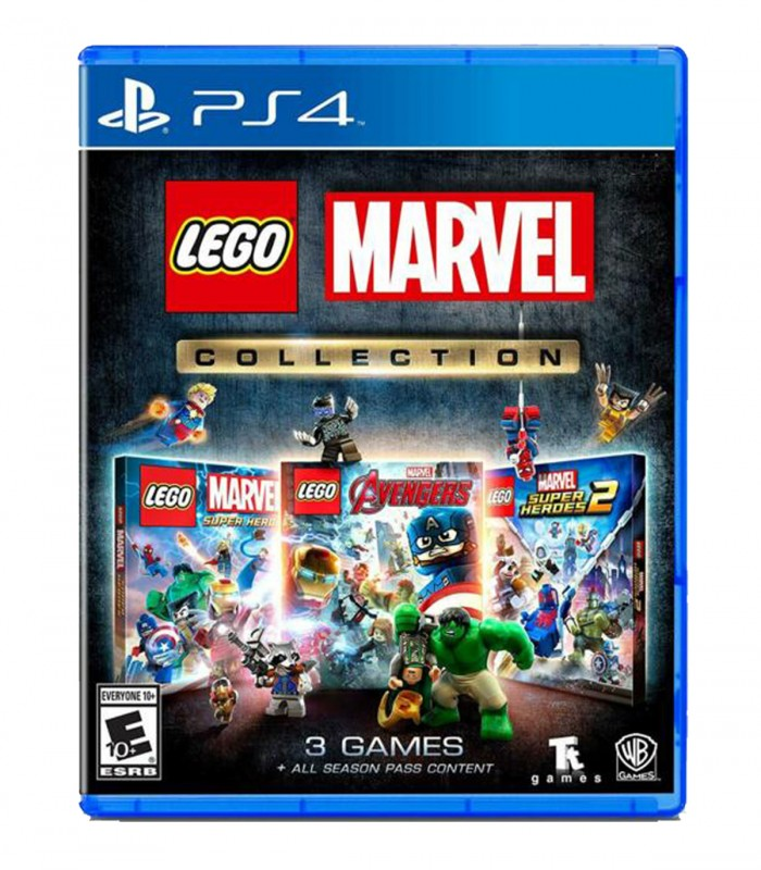 بازی Lego Marvel Collection - پلی استیشن 4