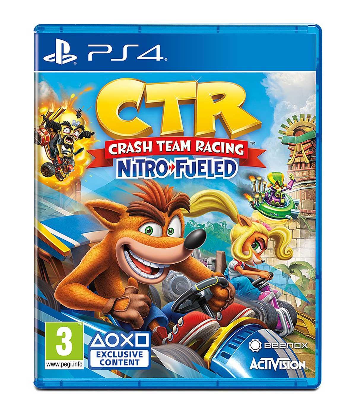 بازی Crash Team Racing Nitro-Fueled کارکرده - پلی استیشن 4