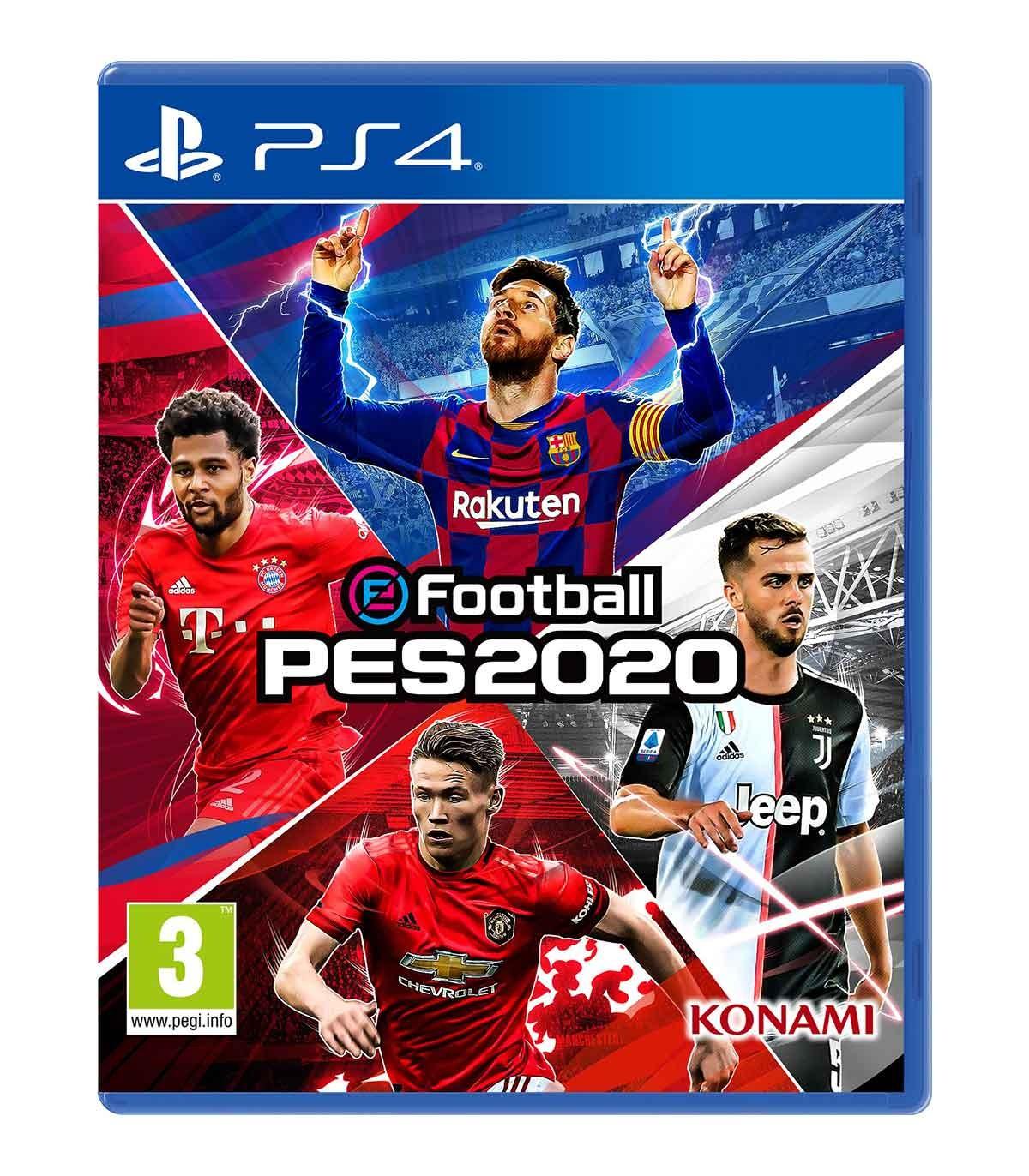 بازی eFootball PES 2020 - پلی استیشن 4