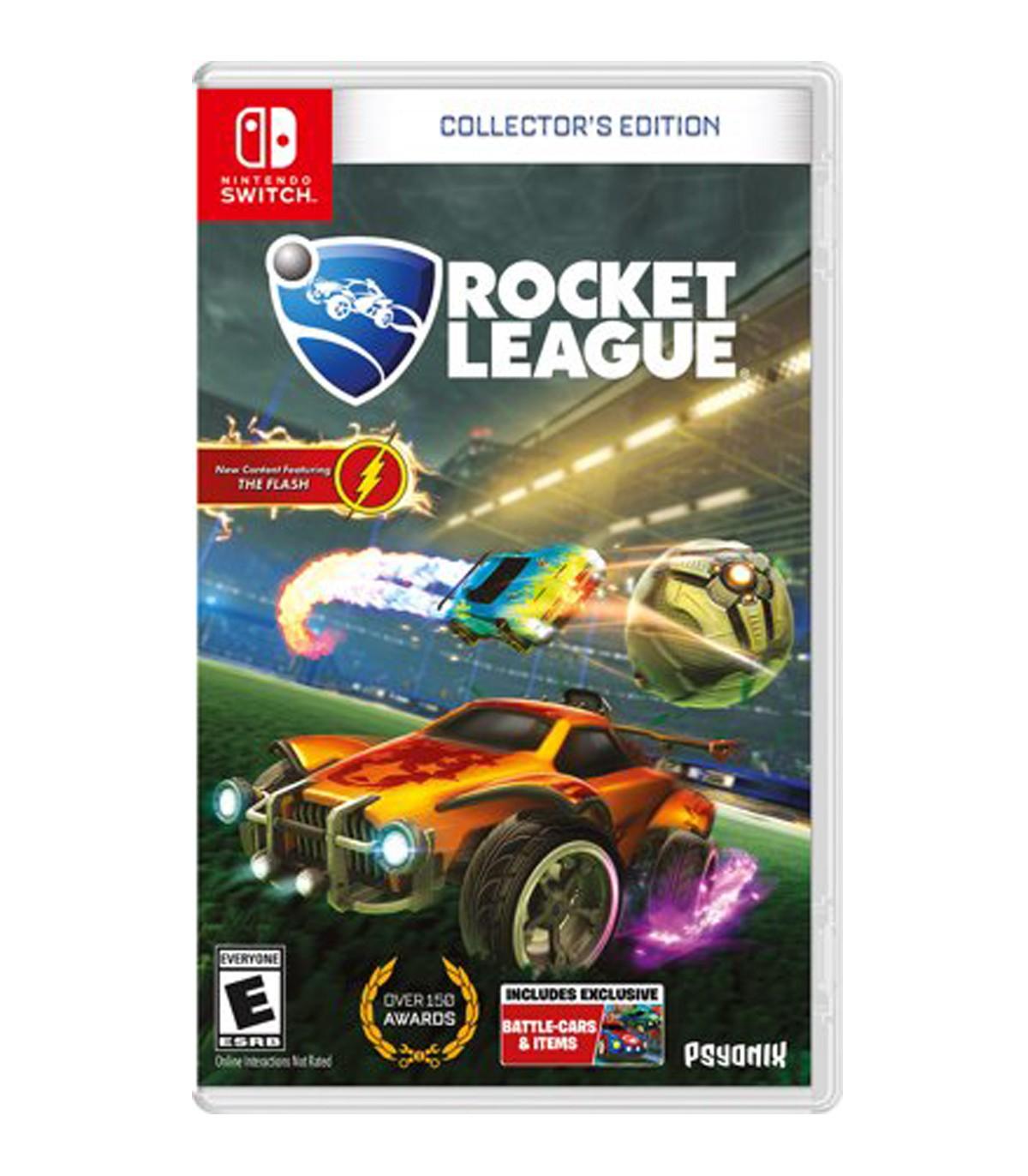 بازی Rocket League: Collector's Edition کارکرده - نینتندو سوییچ