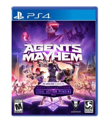 بازی Agents of Mayhem کارکرده - پلی استیشن 4