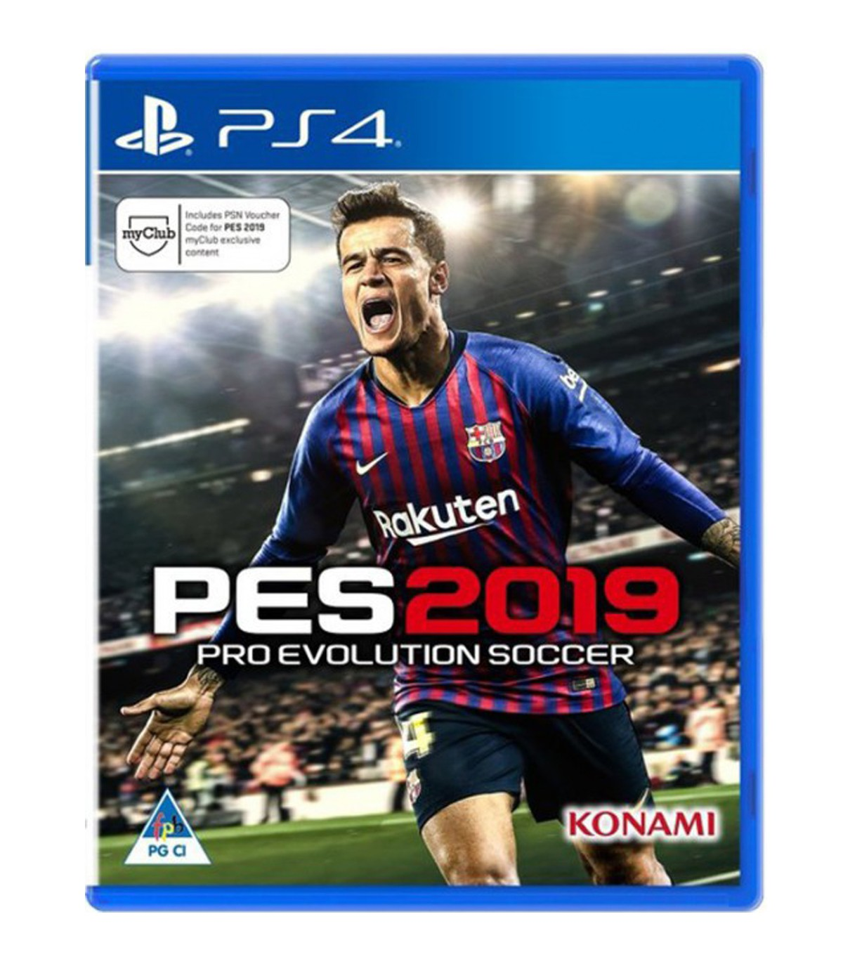 بازی PES 2019 کارکرده - پلی استیشن 4