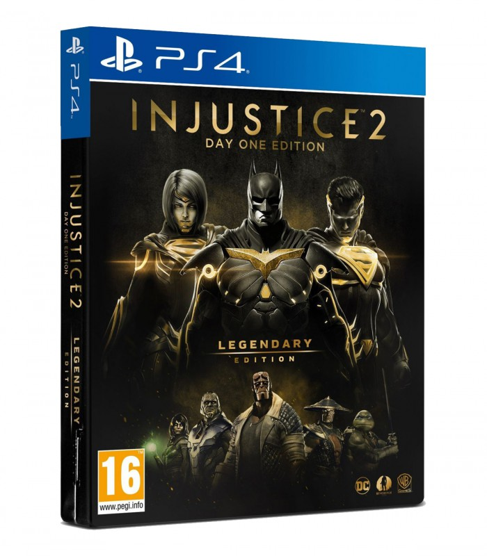 بازی Injustice 2 Legendary Edition کارکرده - پلی استیشن 4