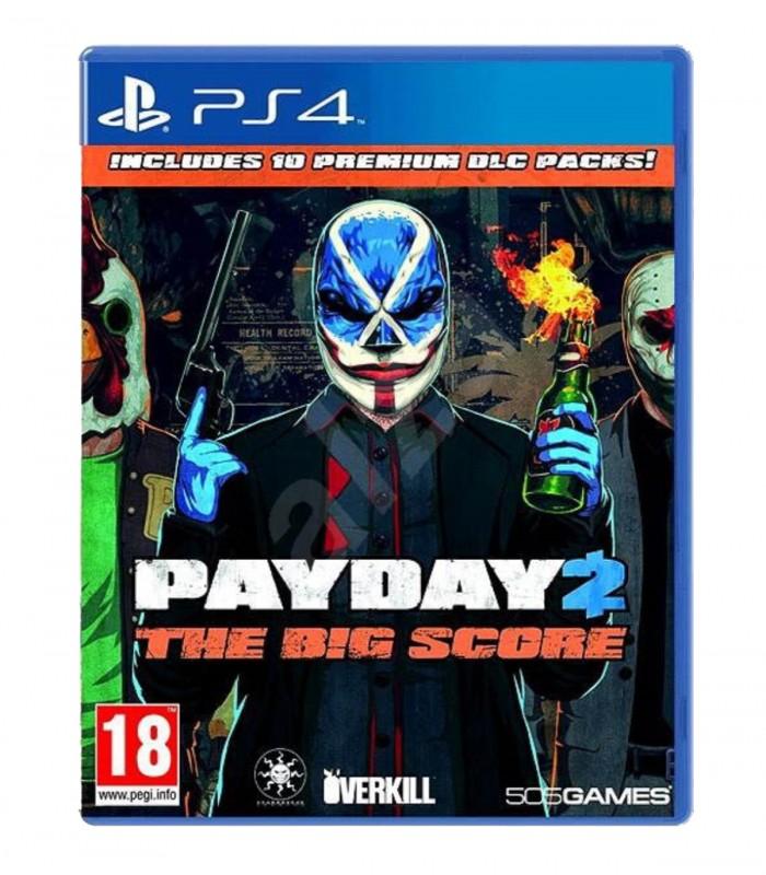 بازی PayDay 2 The Big Score کارکرده - پلی استیشن 4