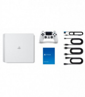 Playstation 4 Slim White Region 2- 500 GB