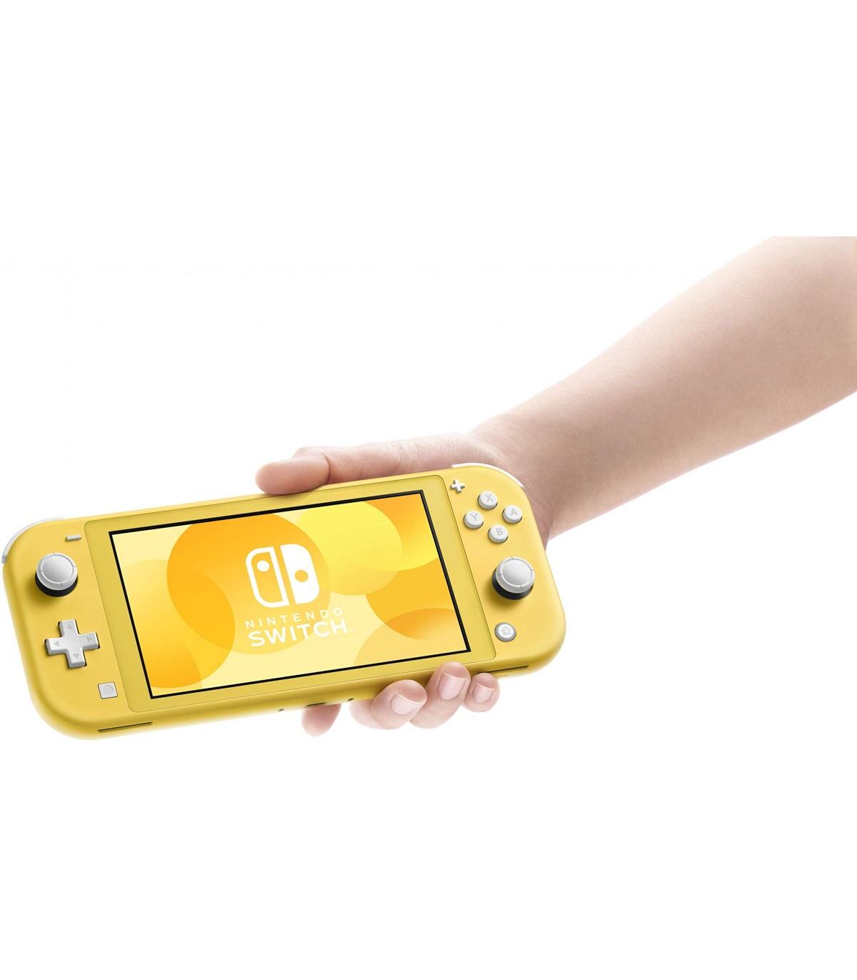 کنسول بازی Nintendo Switch Lite - زرد