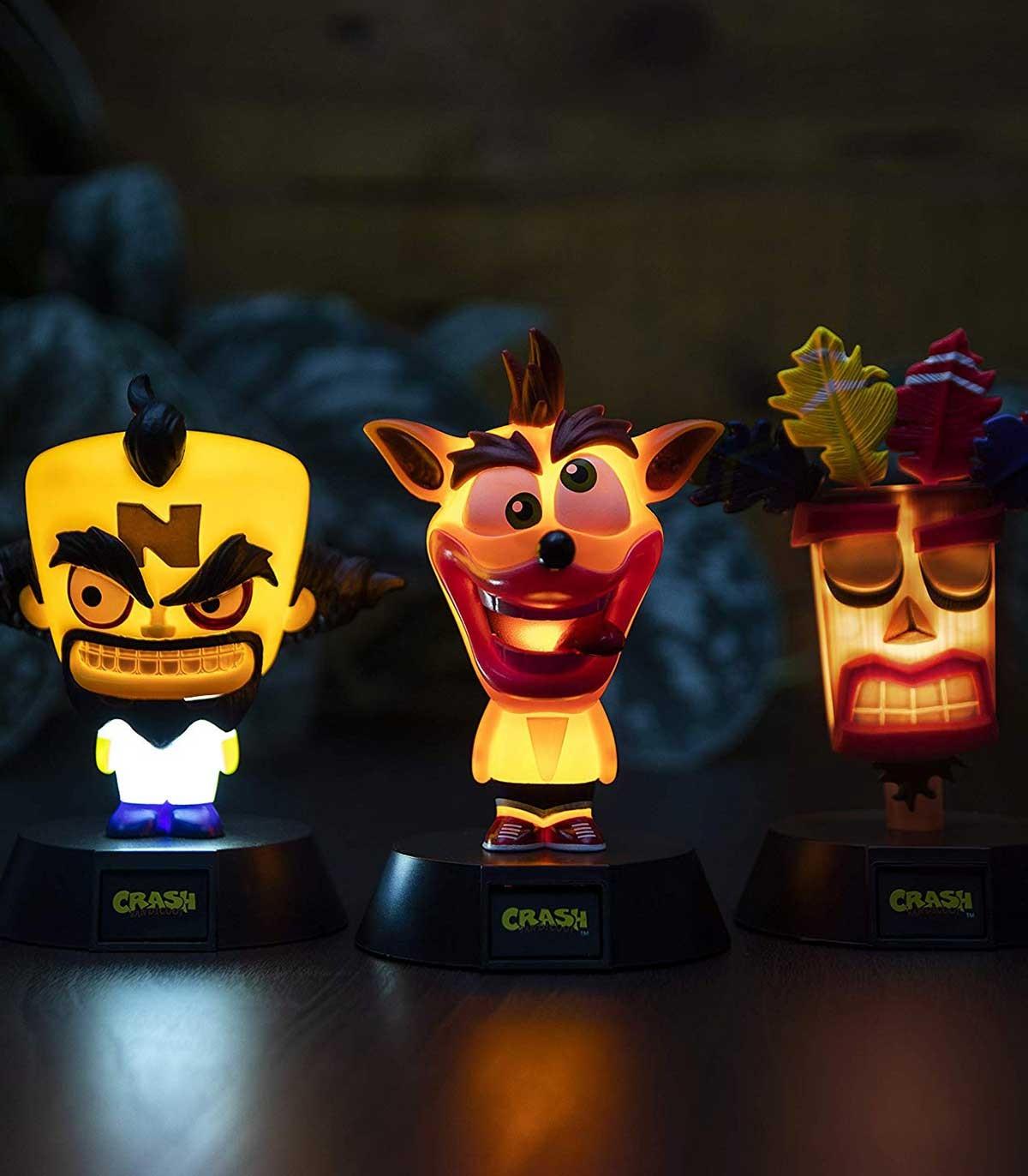 چراغ شمایل Crash Bandicoot