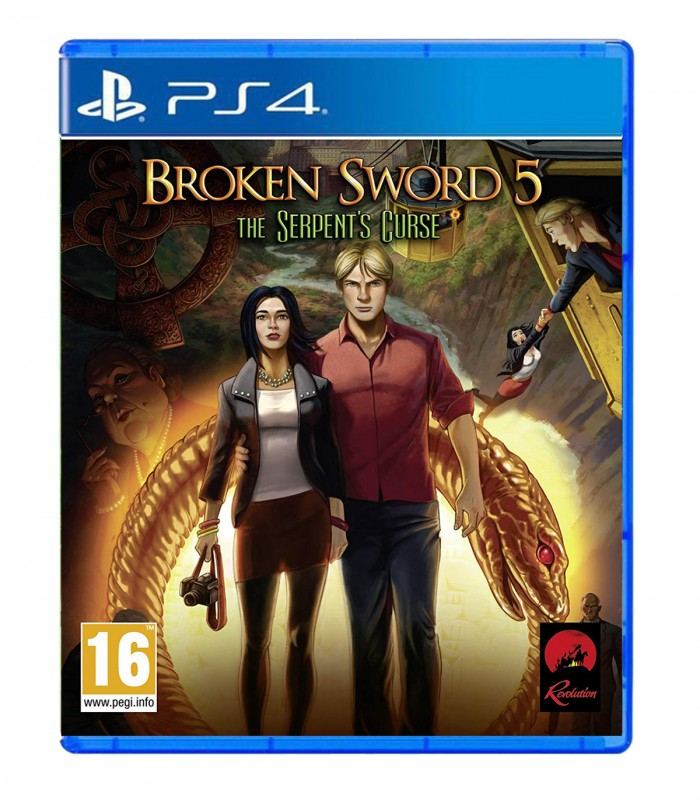 بازی Broken Sword 5: The Serpent's Curse کارکرده - پلی استیشن 4
