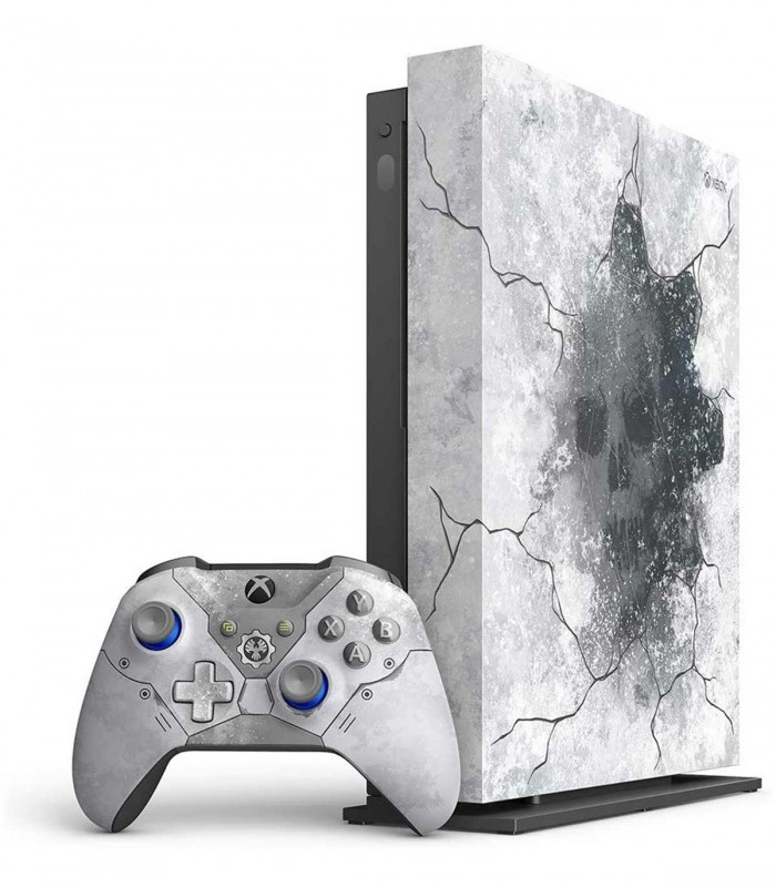 کنسول بازی Xbox One X 1 TB سفید باندل Gears 5 Limited Edition