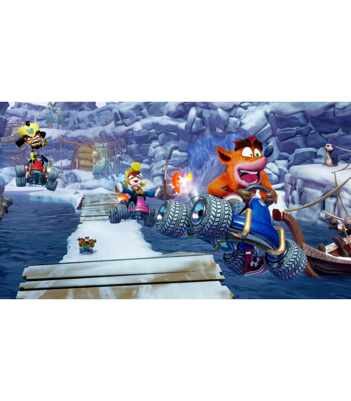 بازی Crash Team Racing Nitro-Fueled کارکرده - ایکس باکس وان