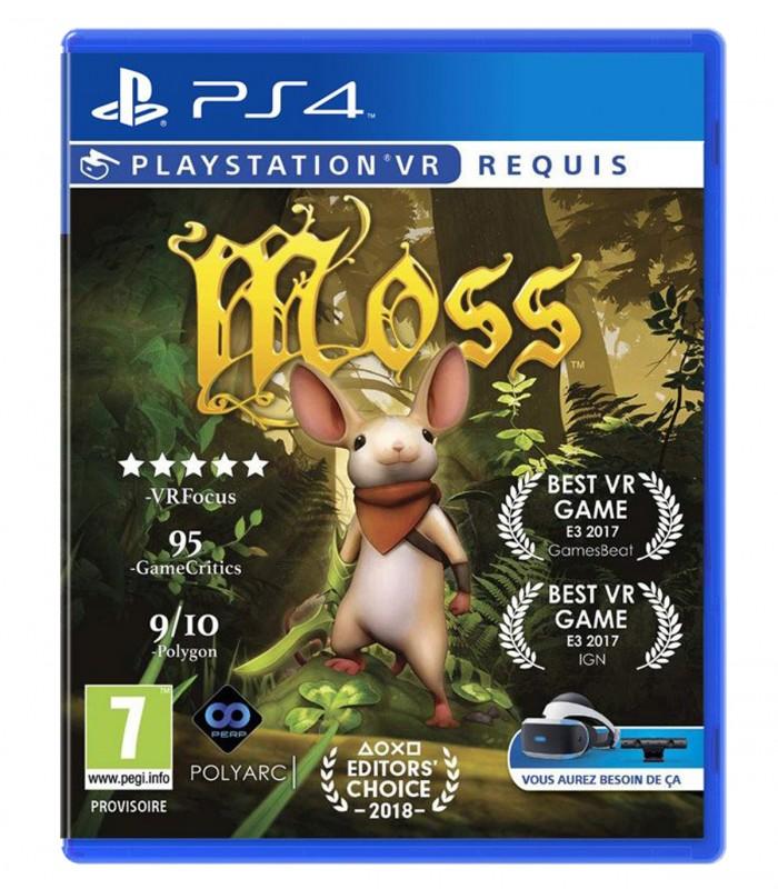 بازی MOSS - پلی استیشن وی آر
