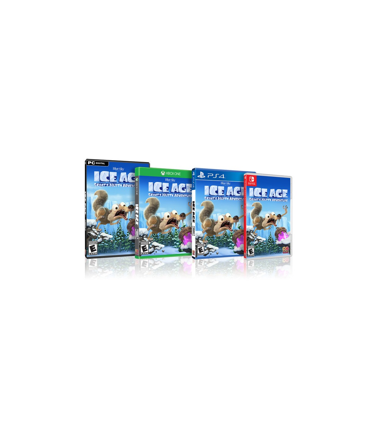 بازی Ice Age Scrat's Nutty Adventure - پلی استیشن 4