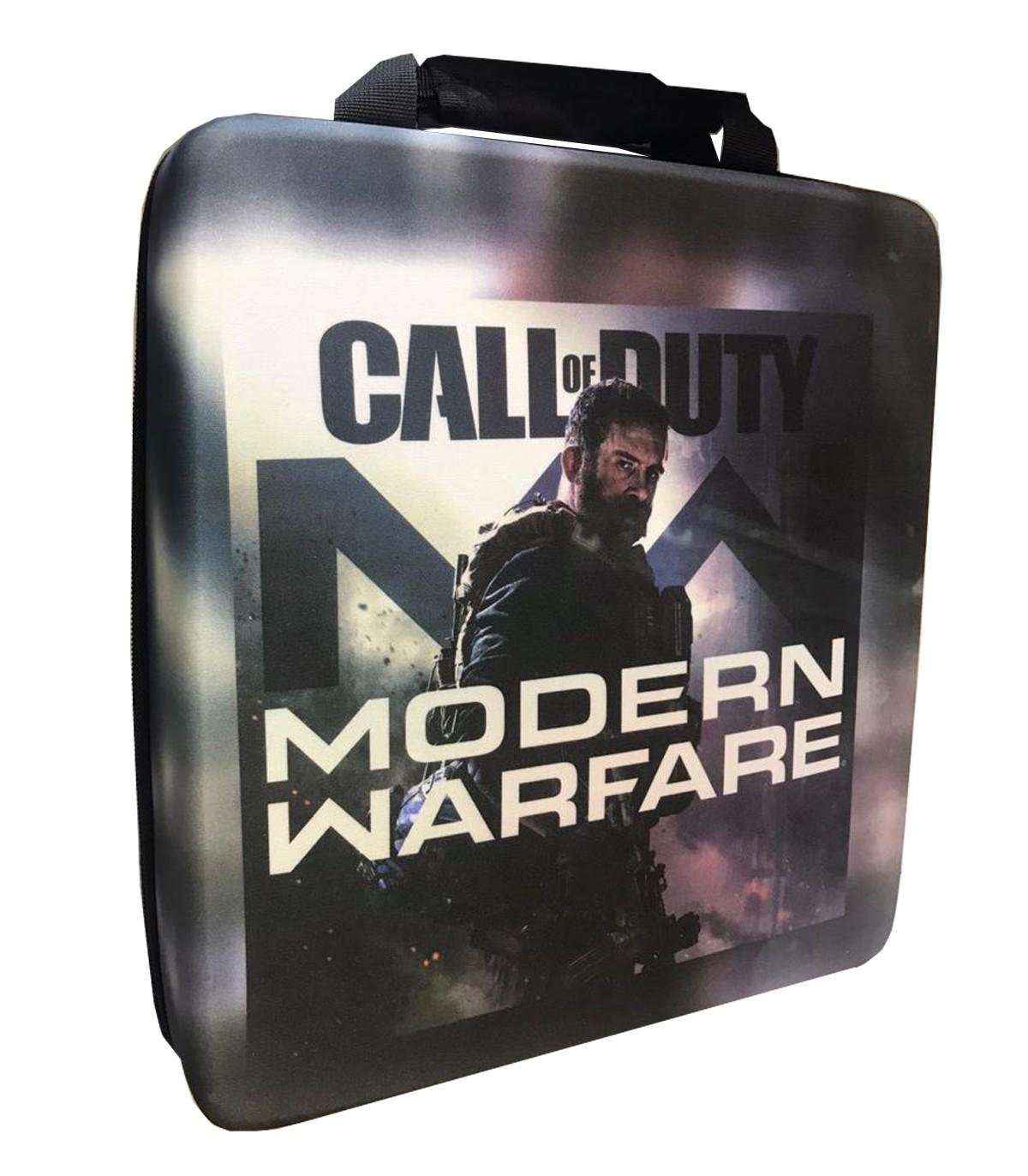 کیف حمل ضد ضربه برای پلی استیشن ۴ طرح Modern Warfare
