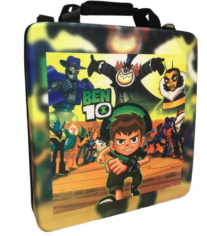 کیف حمل ضد ضربه برای پلی استیشن ۴ طرح Ben 10