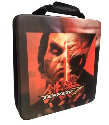 کیف حمل ضد ضربه برای پلی استیشن ۴ طرح Tekken 7