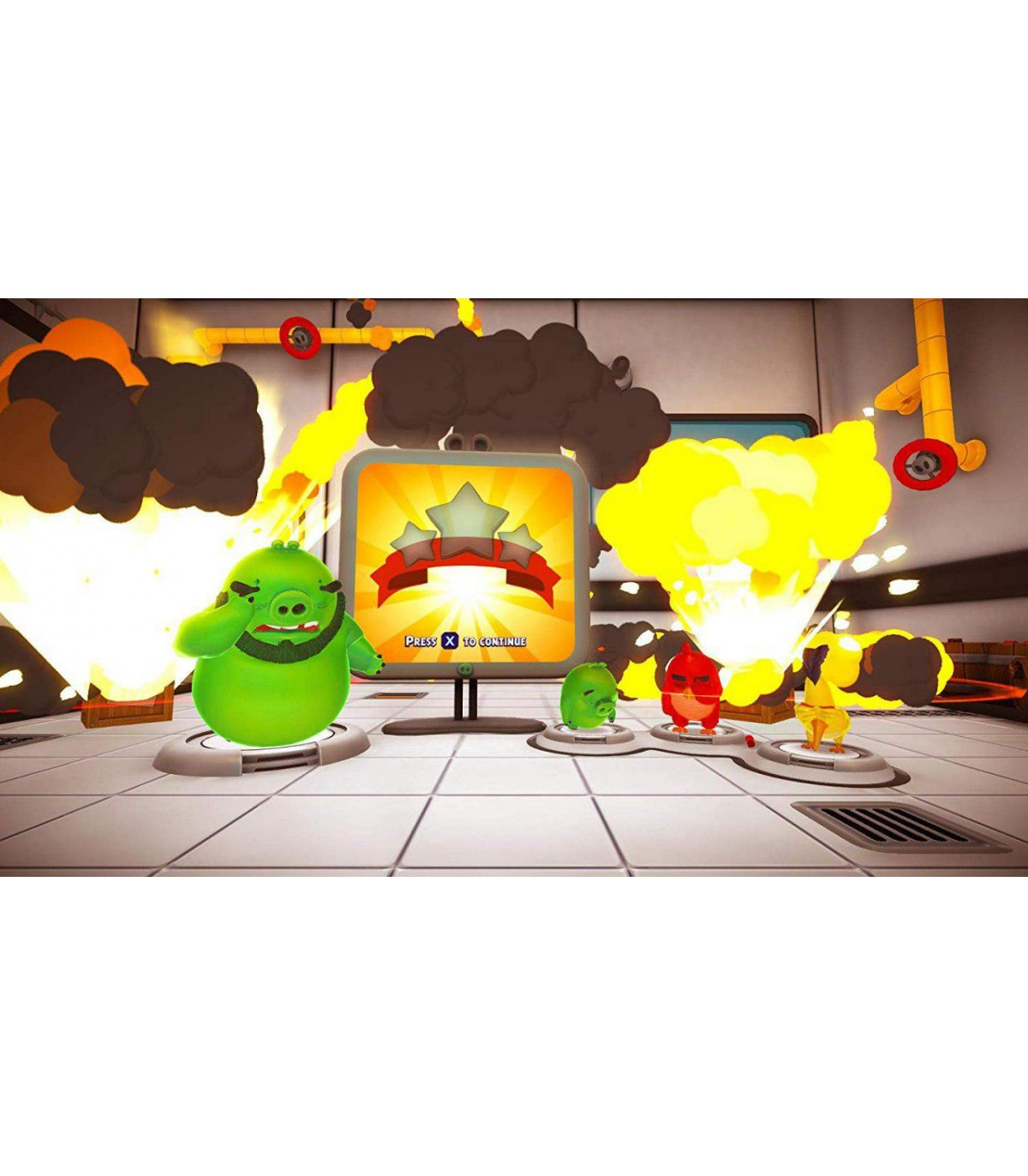 بازی The Angry Birds Movie 2 VR: Under Pressure - پلی استیشن وی