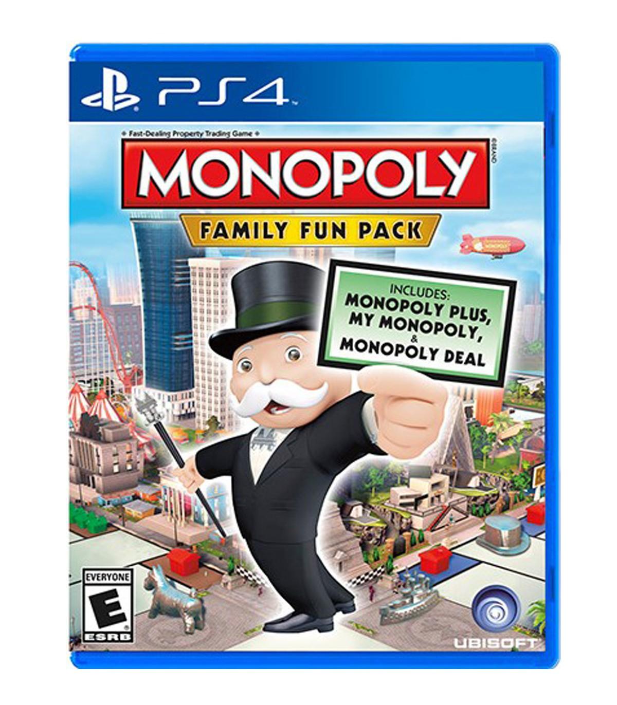 بازی Monopoly Family Fun Pack  - پلی استیشن 4