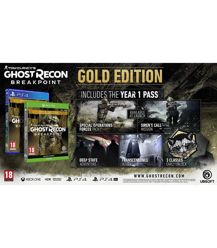 بازی Tom Clancy's Ghost Recon Breakpoint Gold Edition - پلی