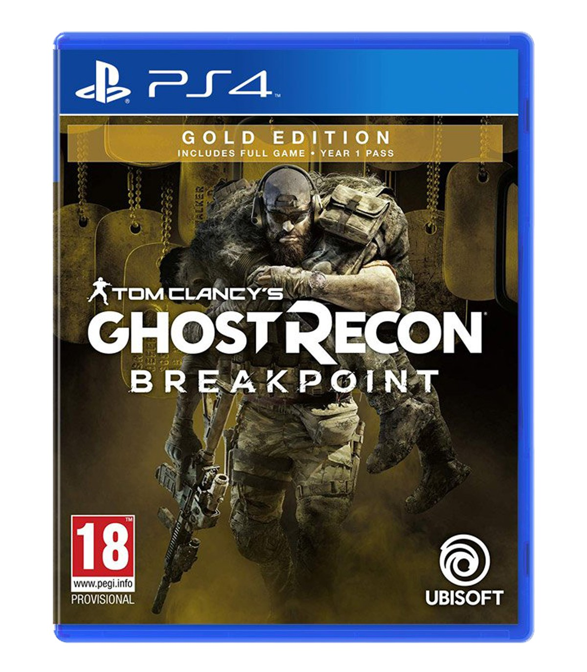 بازی Tom Clancy's Ghost Recon Breakpoint Gold Edition - پلی استیشن 4