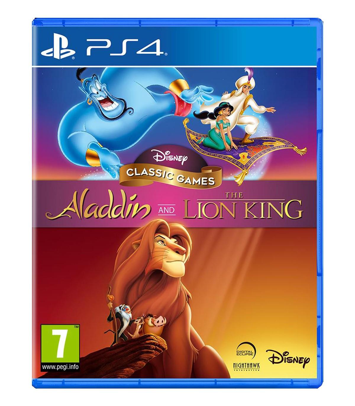 بازی Disney Classic Games: Aladdin and The Lion King - پلی استیشن 4