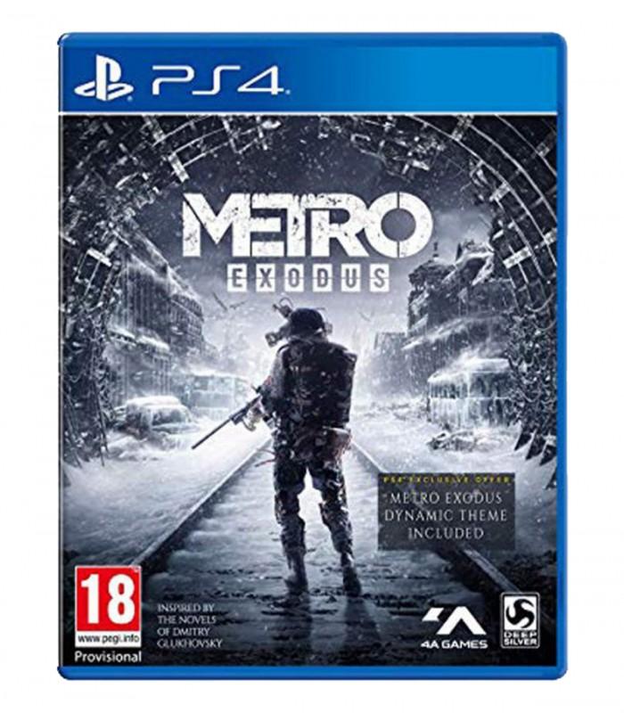 بازی Metro Exodus کارکرده - پلی استیشن 4