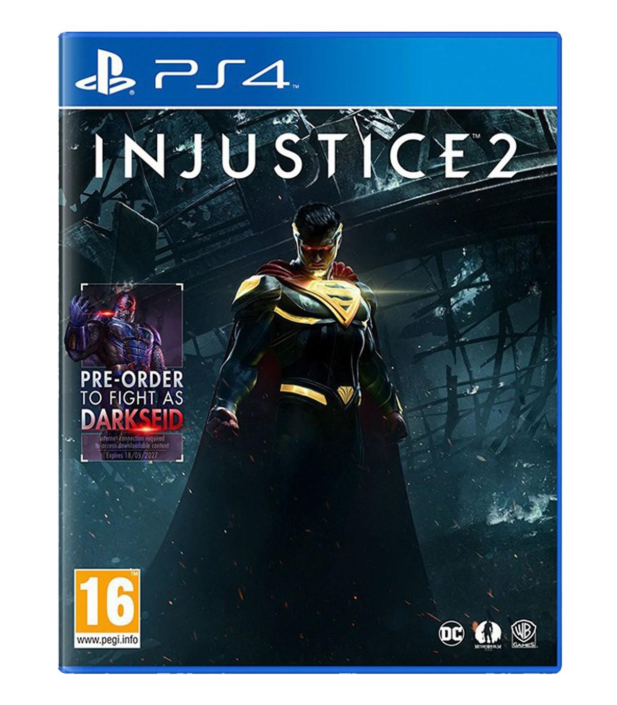 بازی Injustice 2 کارکرده - پلی استیشن 4