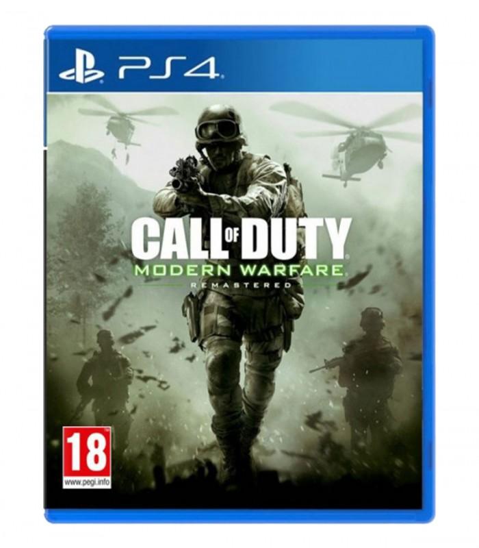 بازی Call Of Duty Modern Warfare Remastered کارکرده - پلی استیشن 4