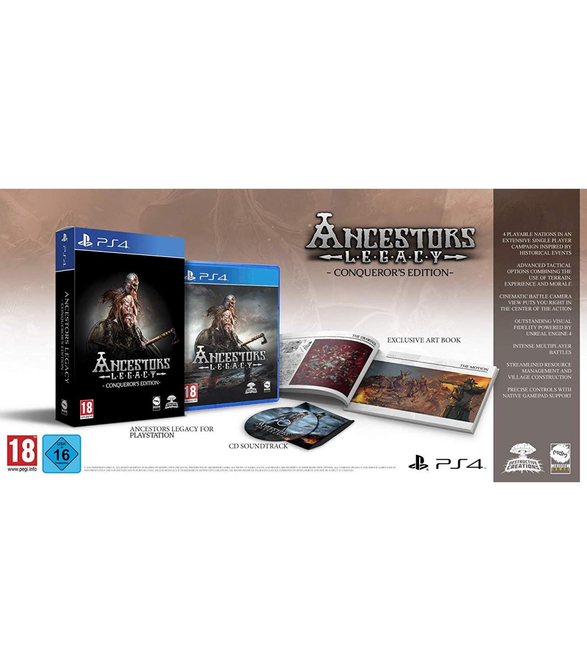 بازی Ancestors Legacy: Conqueror's Edition - پلی استیشن 4