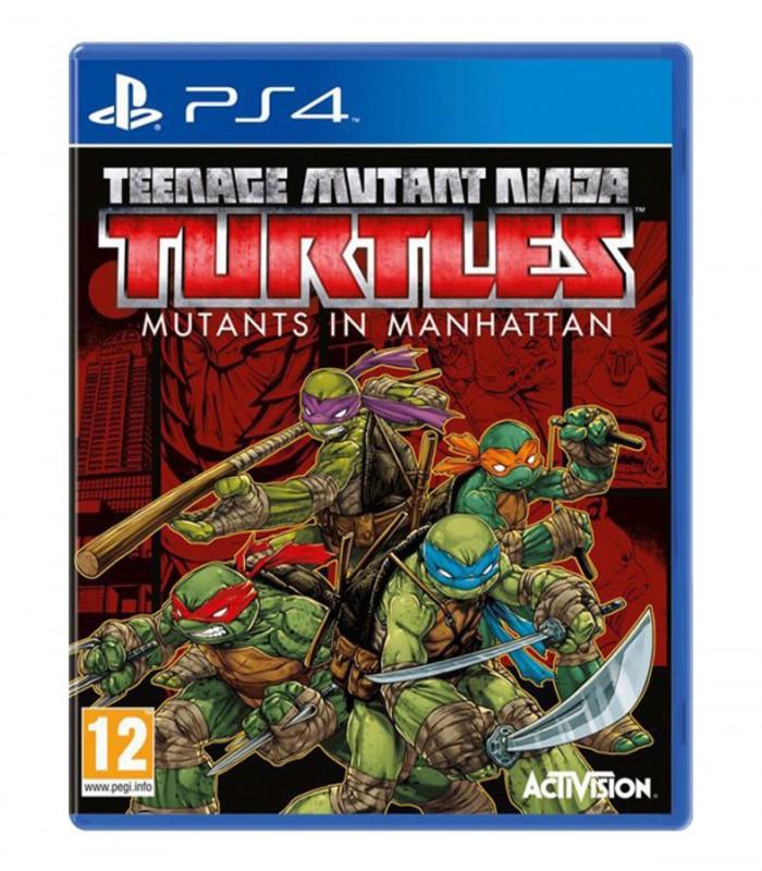 بازی Teenage Mutant Ninja Turtles کارکرده - پلی استیشن 4