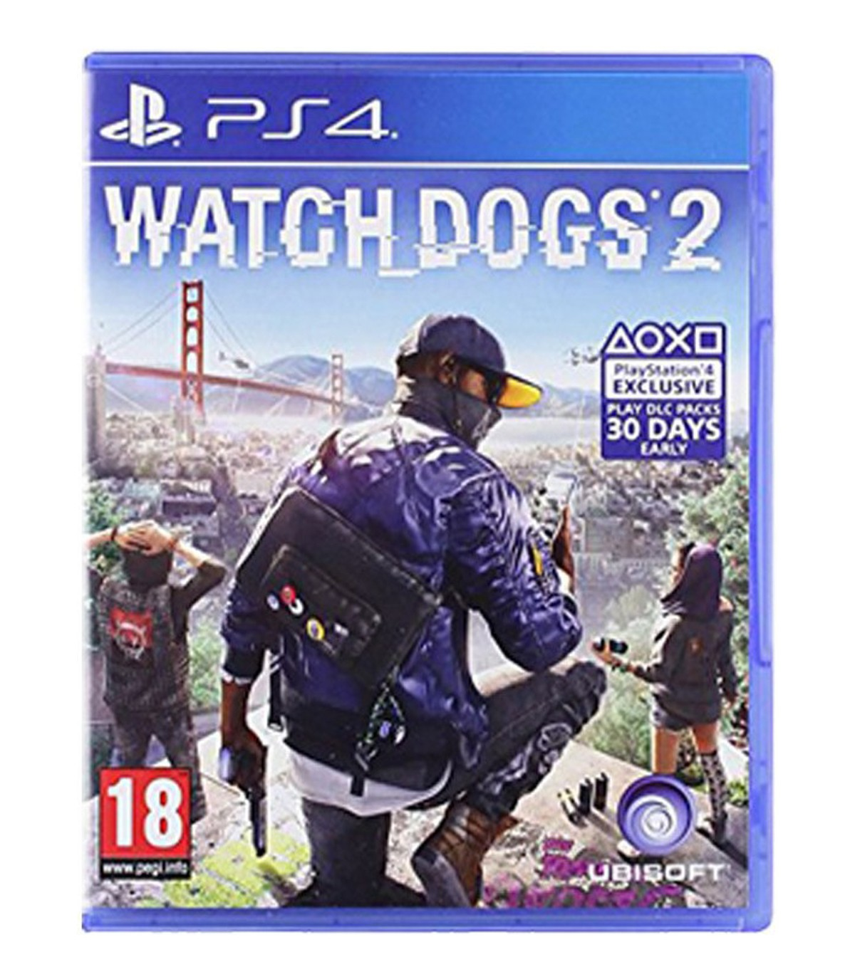 بازی Watch Dogs 2 کارکرده - پلی استیشن 4