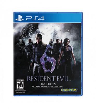 بازی Resident Evil 6 کارکرده- پلی استیشن 4