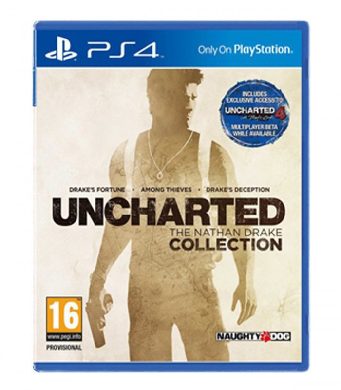 بازی UNCHARTED: The Nathan Drake Collection کارکرده - پلی استیشن 4