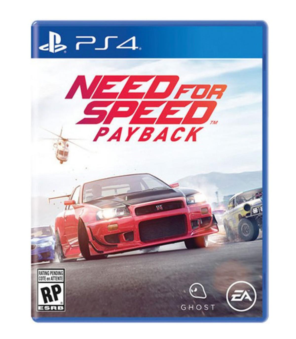 بازی Need for Speed Payback کارکرده - پلی استیشن 4