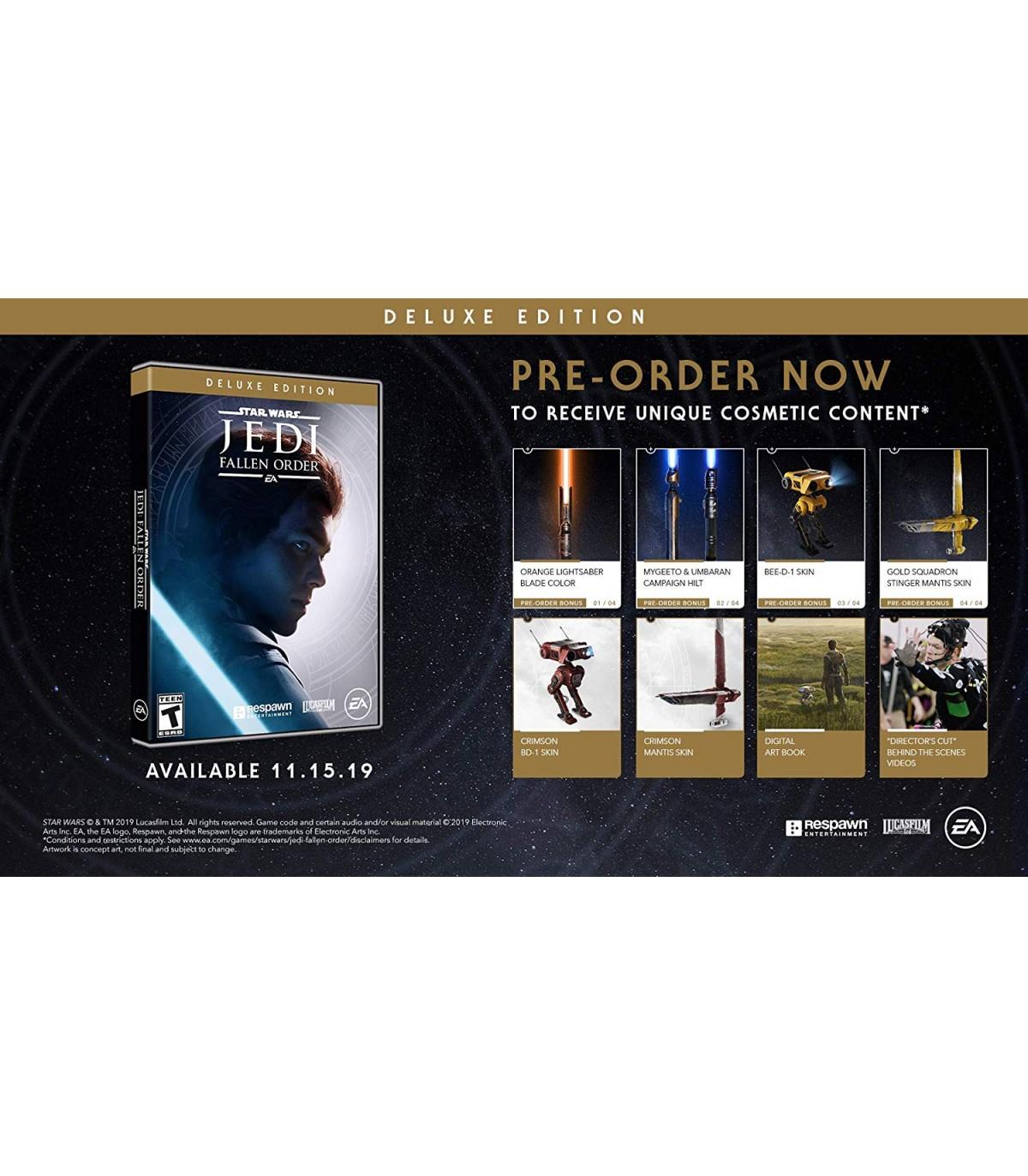 بازی Star Wars Jedi: Fallen Order Deluxe Edition - پلی استیشن 4