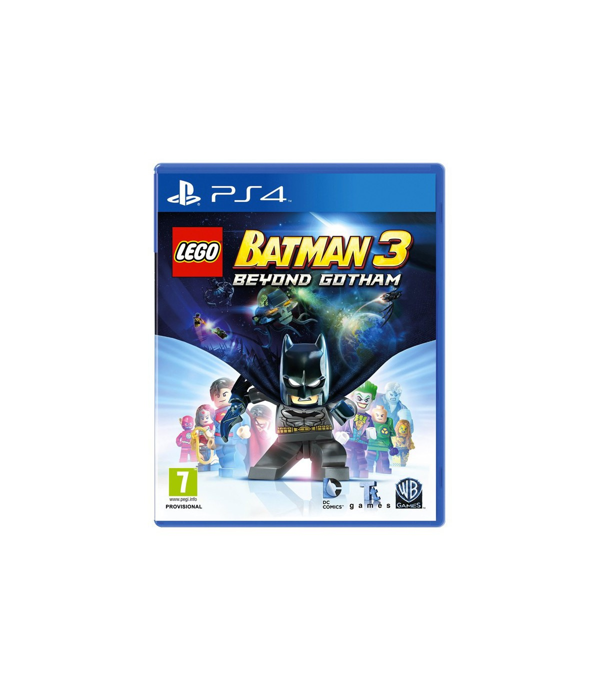 Lego Batman 3 : Beyond Gotham کارکرده - پلی استیشن ۴