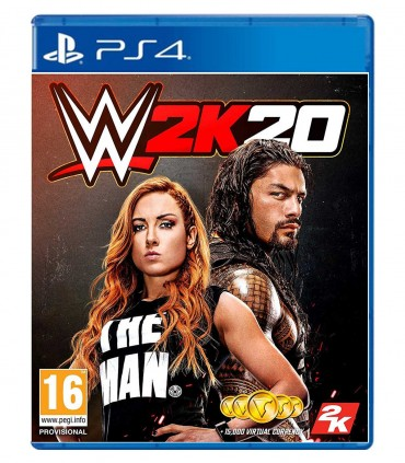 بازی WWE 2K20 کارکرده - پلی استیشن 4