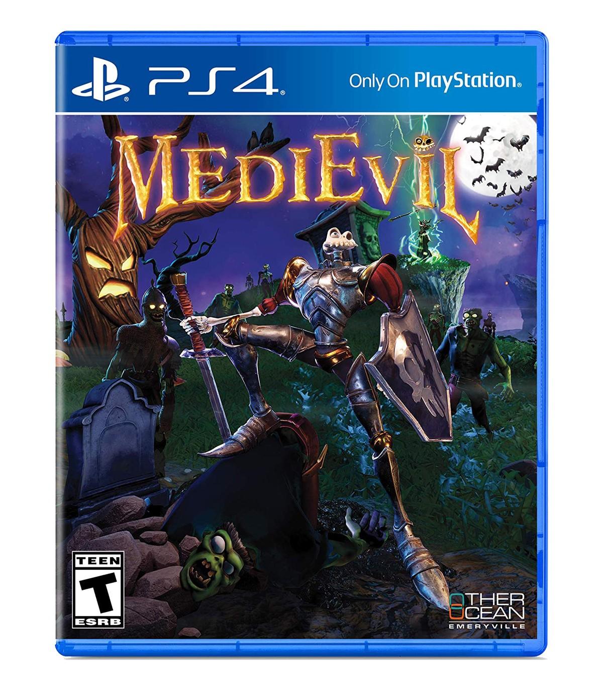 بازی MediEvil کارکرده - پلی استیشن 4