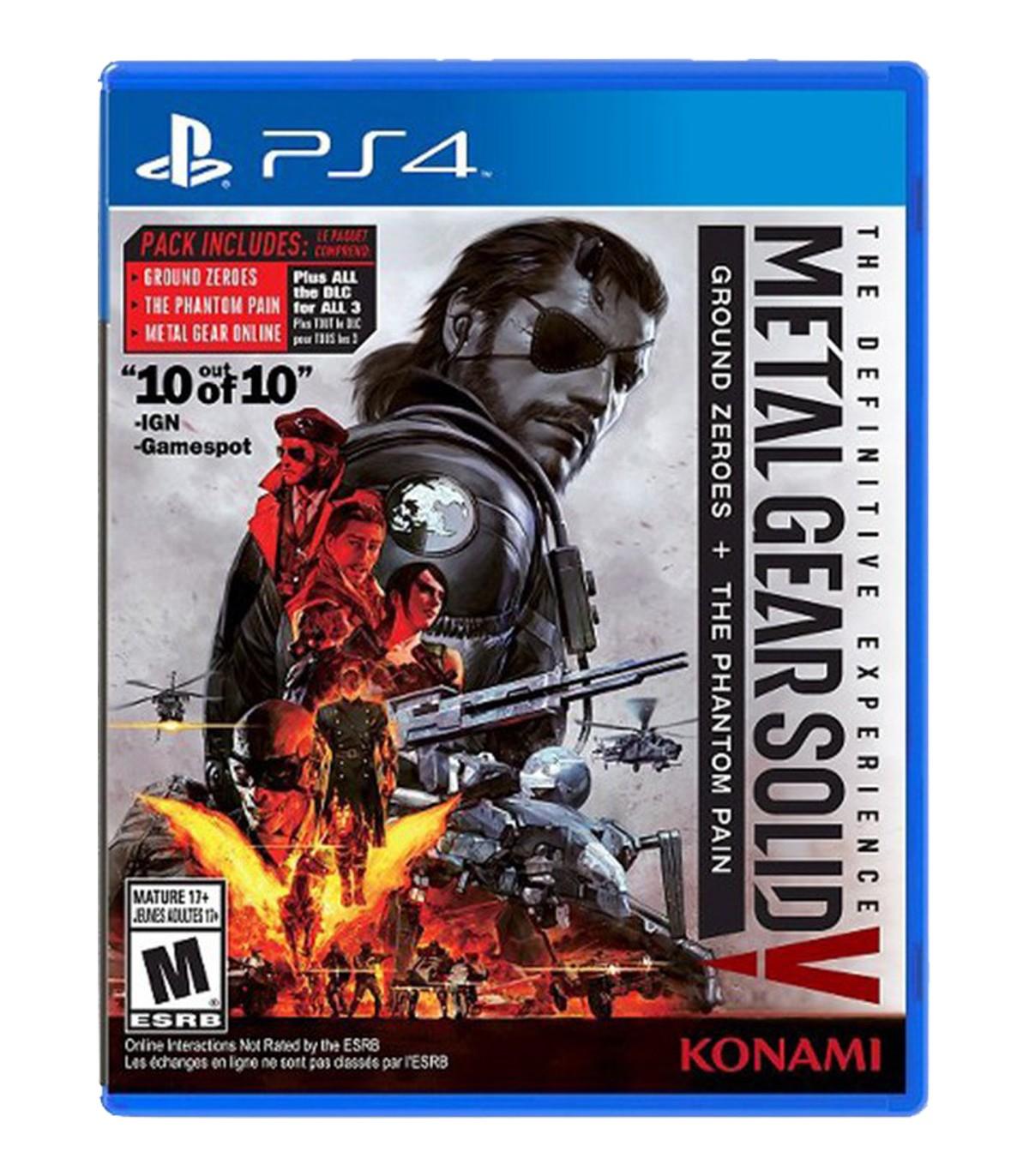 بازی Metal Gear Solid V: The Definitive Experience کارکرده - پلی استیشن 4